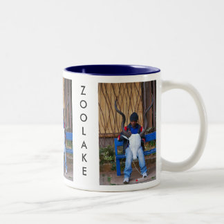 Bead Worker Two-Tone Coffee Mug