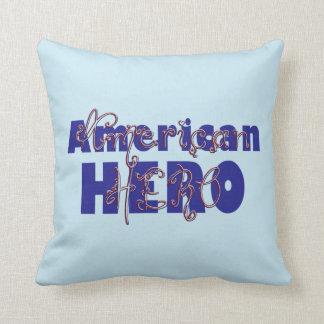 Beaded American Hero-Square Pillow