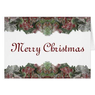 Beaded Christmas Cards