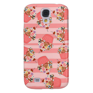 Beaded Cupcake Samsung Galaxy S4 Covers