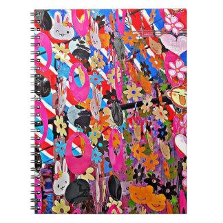 Beaded Curtain Notebook