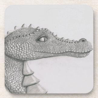 Beaded Dragon Drink Coaster