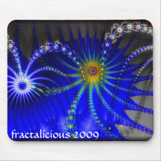 Beaded Fireworks Mouse Pad