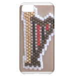 Beaded Gold Harp iPhone 5C Covers
