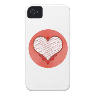 Beaded Heart Photo Frame Blackberry Bold Cases