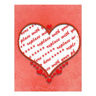 Beaded Heart Photo Frame Flyer