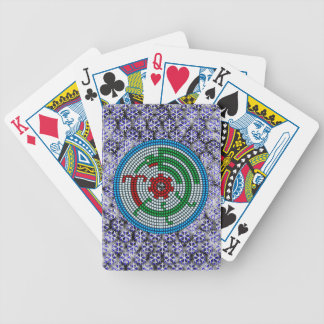 Beaded Hummingbird Bicycle Playing Cards