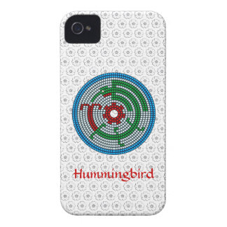 Beaded Hummingbird iPhone 4 Cover