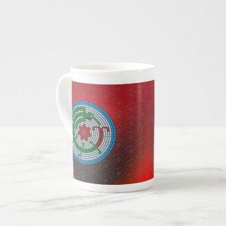 Beaded Hummingbird Tea Cup