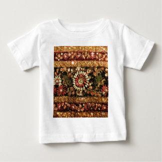 Beaded Indian Saree Photo Baby T-Shirt