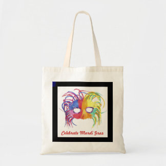 Beaded Mask - Tote Bags