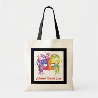 Beaded Mask - Tote Bags