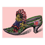 Beaded Slipper Postcard