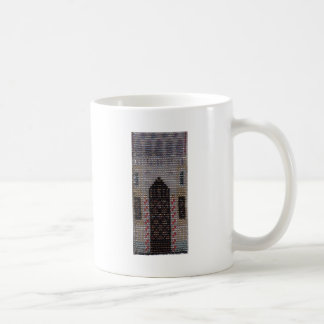 Beaded Venetian House Coffee Mug