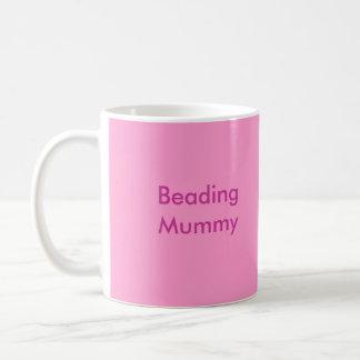 Beading Mummy Classic White Coffee Mug