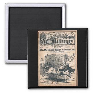Beadles Half Dime Library No. 1120 1901 Fridge Magnet