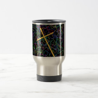 Beads and The Cross Travel Mug