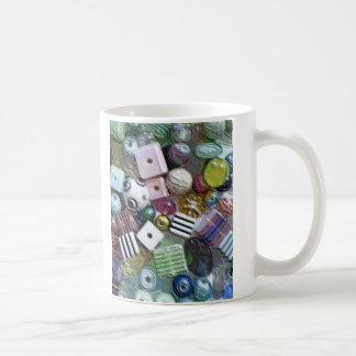 Beads Classic White Coffee Mug