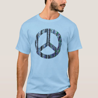 Beads in peace sign T-Shirt