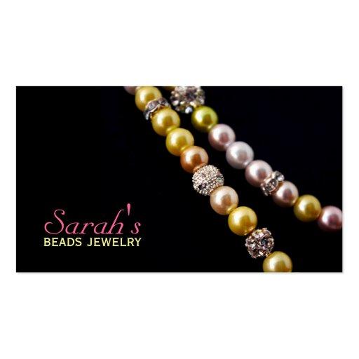 Beads Jewelry Business Card | Zazzle: www.zazzle.com/beads_jewelry_business_card-240437402970854786