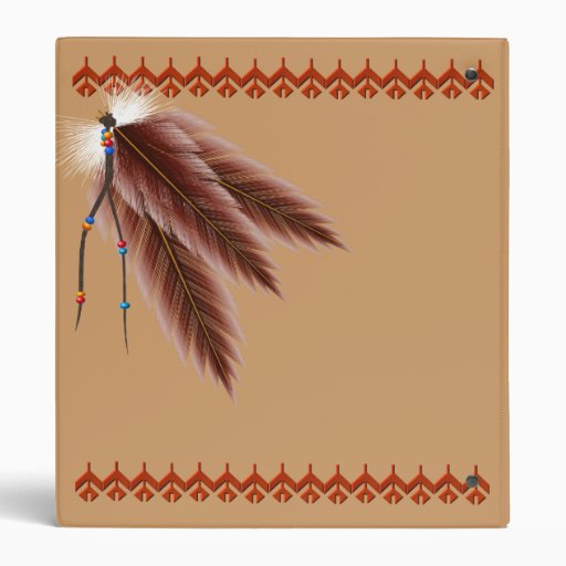 Beads N Feathers Avery Binder