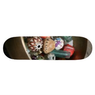 Beads on Wheels Skateboard Deck