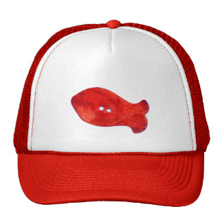 Beads Red Fish Hat