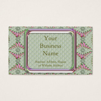 Beads & Satin Business Card