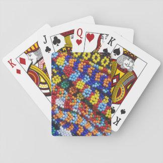 Beadwork, Melmoth, Kwazulu-Natal, South Africa Playing Cards