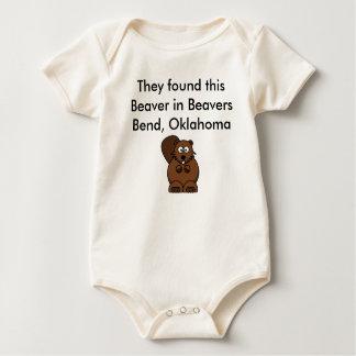 Beaer, encontraron que este castor en castores mameluco de bebé