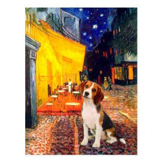 Beagle1 - Café de la terraza Postal
