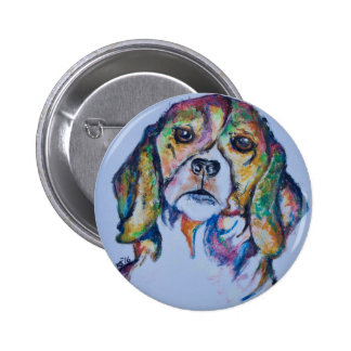 Beagle 1 pinback button
