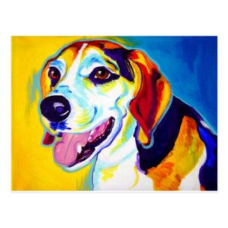 Beagle #1 postcard