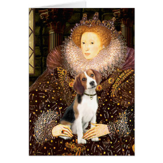 Beagle 1 - Queen Elizabeth I Card