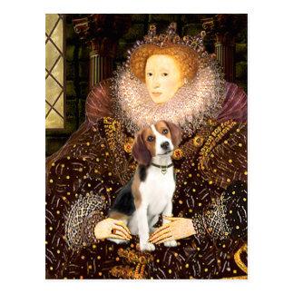 Beagle 1 - Reina Elizabeth I Postales