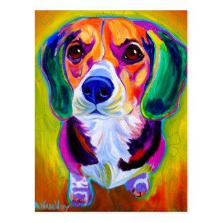 Beagle #2 postcard