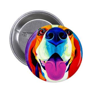 Beagle #3 pinback button
