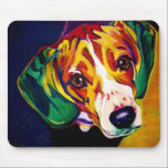 "Beagle #5 mouse pad<br><div class=""desc"">Beagle gear!</div>"