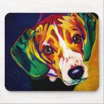 """Beagle #5 mouse pad<br><div class=""""desc"""">Beagle gear!</div>"""