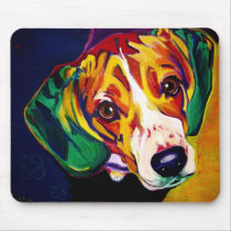 Beagle #5 mouse pad