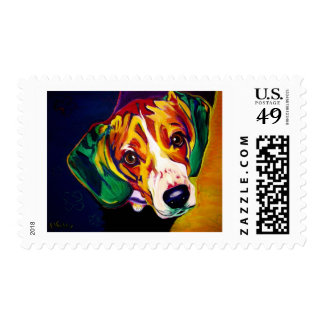 Beagle #5 postage stamp