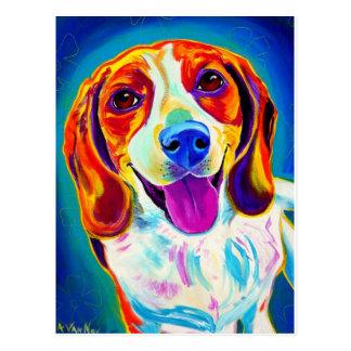 Beagle #6 postcard