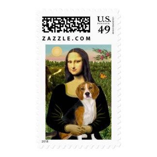 Beagle 7 - Mona Lisa