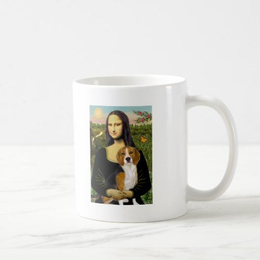 Beagle 7 - Mona Lisa Coffee Mug