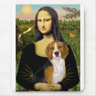 Beagle 7 - Mona Lisa Tapete De Ratones
