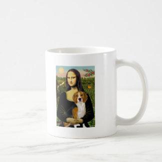 Beagle 7 - Mona Lisa Taza