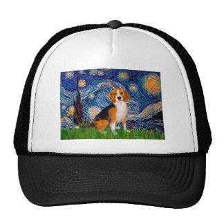Beagle 7 - Noche estrellada Gorra