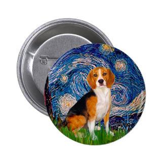 Beagle 7 - Noche estrellada Pin