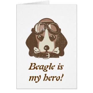 Beagle ace [editable] card