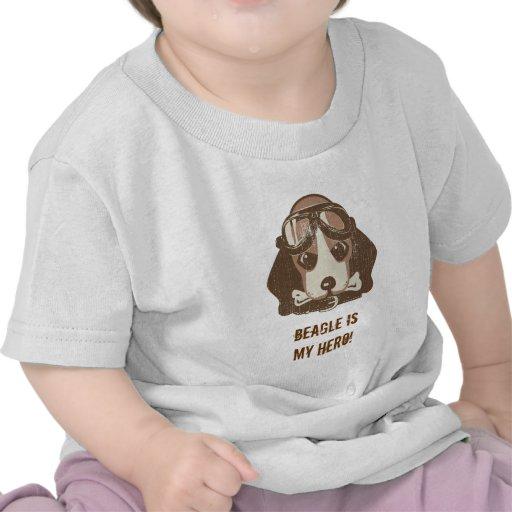 Beagle ace [editable] tees